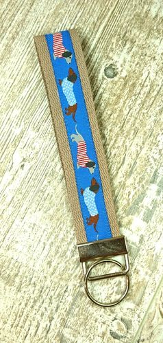 Lanyard for Key fob, Key, ID Badge Holder, USB, Purse - Size 1 / small