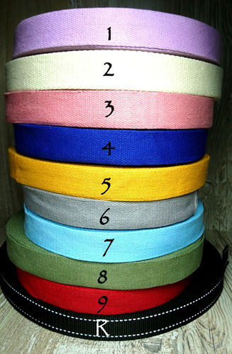 Strap/Web belt Cotton 30 mm